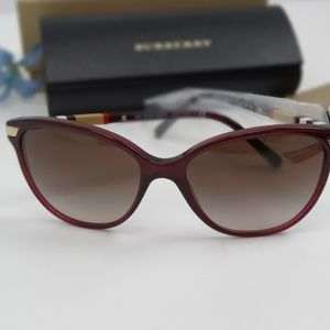 Burberry BE4216-300213-57 Brown Sunglasses